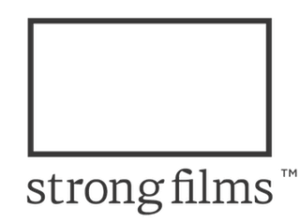 strong films logo black large